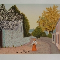 Ambiance de Printemps - Image Size : 11x16 Inches