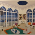 Interior with Miro - Image Size : 30x45 Inches