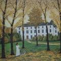Le Manoir de Kerank - Image Size : 15.5x17 Inches