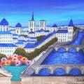 Bridges of Paris - Image Size : 13x16 Inches