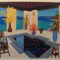 Interior with Spa - Image Size : 16x20 Inches