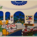 Tropical Nights - Image Size : 18x23 Inches