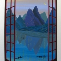 China Mountains - Image Size : 12x17 Inches