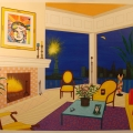 Liberty Interior - Image Size : 31x37 Inches