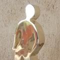Fanch Ledan Sculpture : Gold