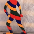Striped Lady from Gothic View