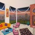 Interior with Lekinff - Image Size : 24x29 Inches