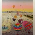 Ballooning Place de la Concorde - Image Size : 19x25 Inches
