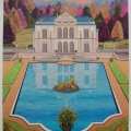 Linderhorf Castle - Image Size : 20x27 Inches
