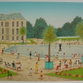 Bassin du Luxembourg - Image Size : 15x21.5 Inches