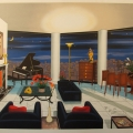 Interior with Picasso - Image Size : 28x41 Inches