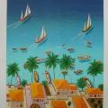Le Paradis - Image Size : 20x24 Inches