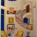 Interior with Klimt - Image Size : 25x33 Inches